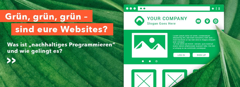 Na, Devs? Wie grün sind eure Sites?